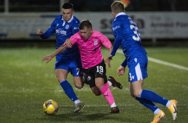 Kai Kennedy impressed against Queen of the South