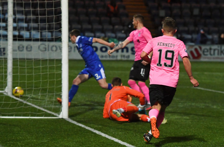 Kai Kennedy scores his first goal for Inverness