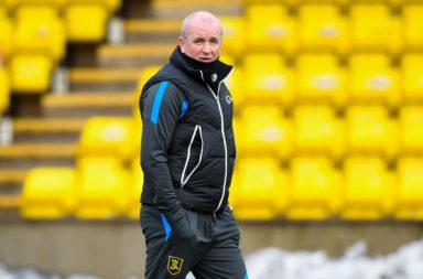 Livingston caretaker manager David Martindale
