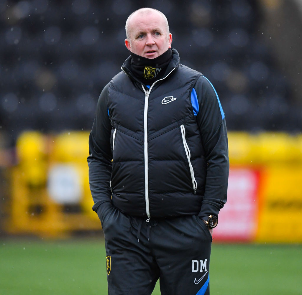 David Martindale is currently in charge of Livingston
