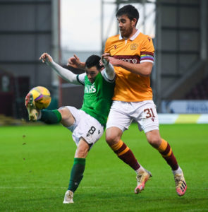 Motherwell defender Declan Gallagher has been linked with the likes of Celtic.