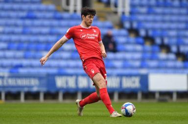 Scott McKenna in action for Nottingham Forest