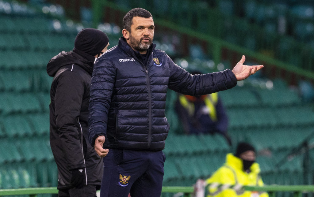 'We'll see' - St Johnstone boss gives nothing away as he contemplates swoop before Hampden tie