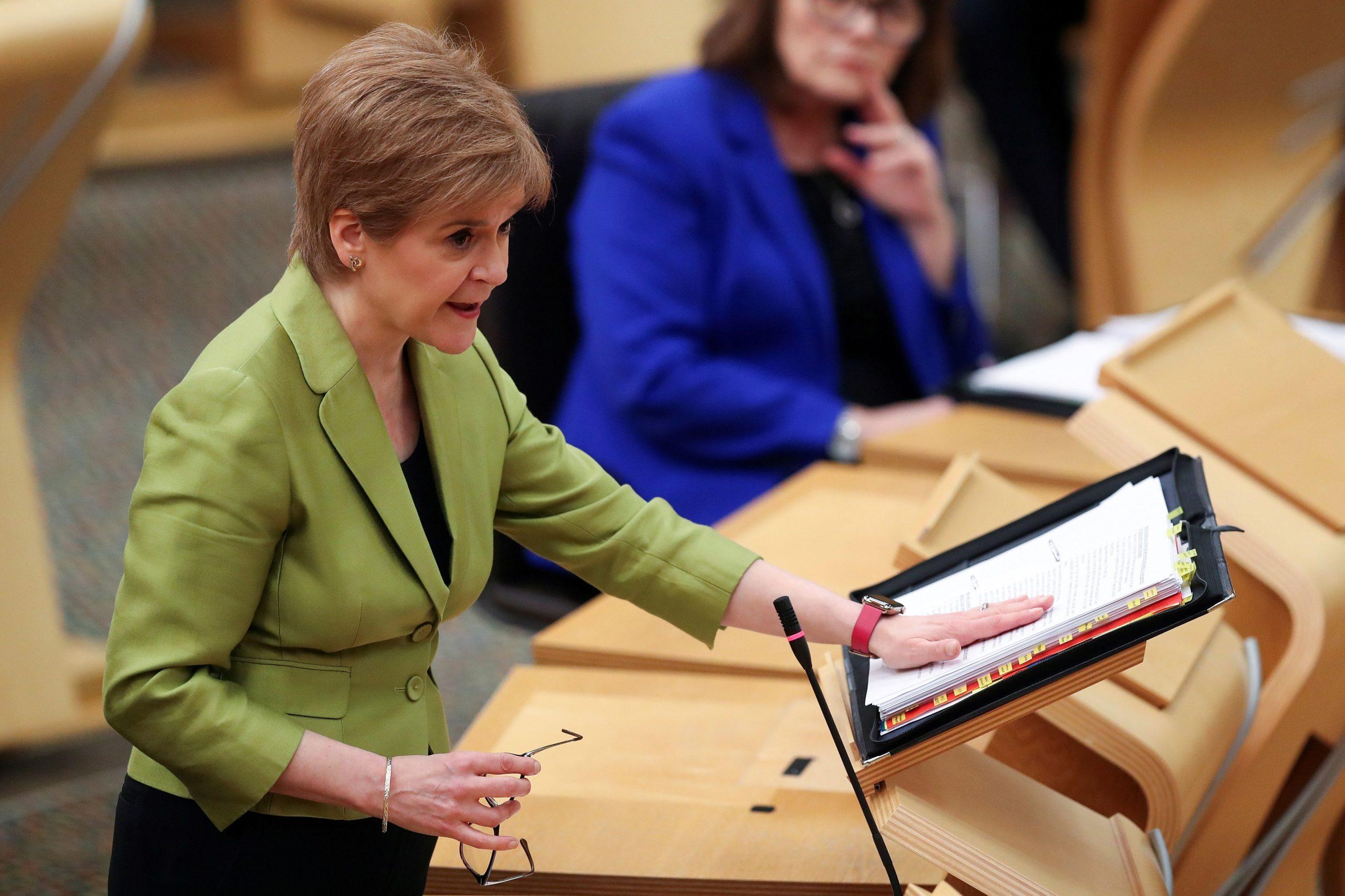 BRITAIN-SCOTLAND-POLITICS-HEALTH-VIRUS