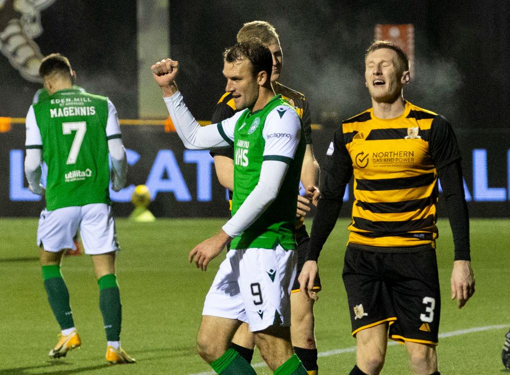 Alloa Athletic v Hibernian - Betfred Cup Quarter Final