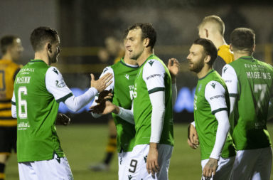 Alloa Athletic v Hibernian - Betfred Cup Quarter Final