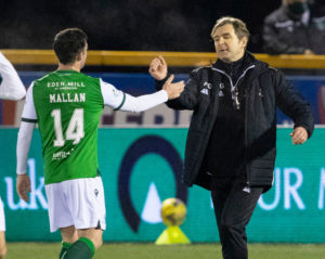 The former Celtic man could become Falkirk boss.