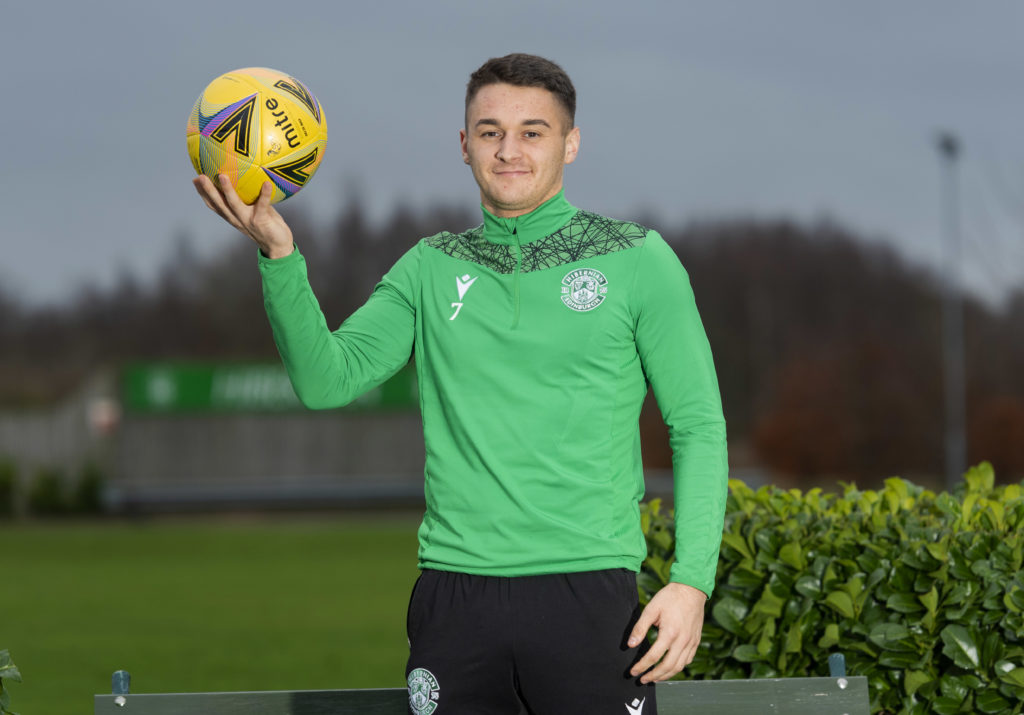 Fit again Kyle Magennis looking to repay Hibernian manager ...