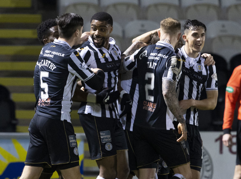 'A bit more freedom' - St Mirren star is enjoying football without the threat of relegation