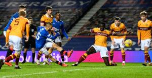 Rangers v Motherwell - Ladbrokes Scottish Premiership
