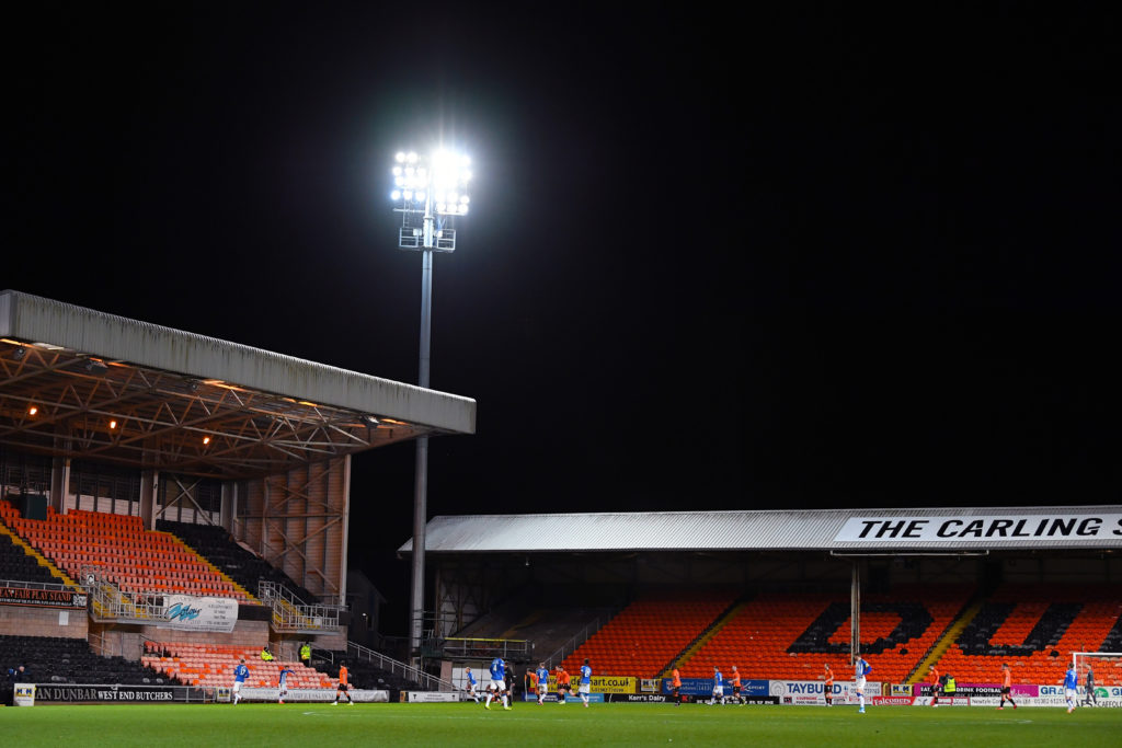 Bad weather decimates Scottish football; Dundee United game postponed