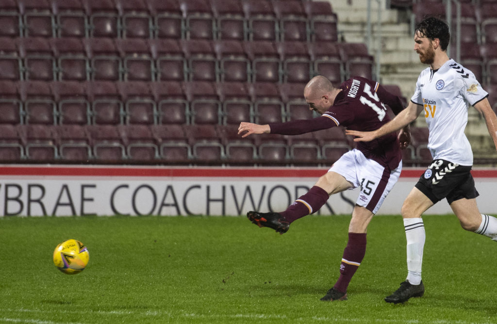 'Still an asset' - Robbie Neilson explains why striker didn't leave Hearts in January window
