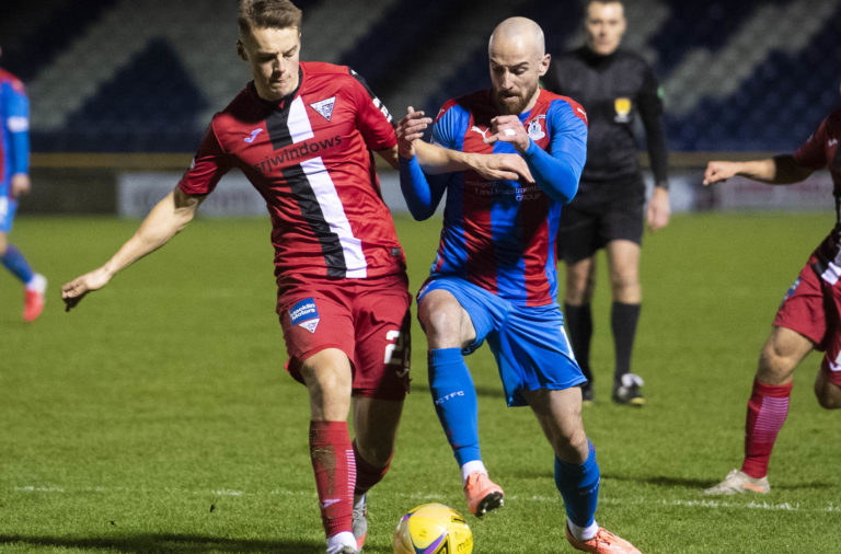 Inverness Caledonian Thistle v Dunfermline - Scottish Championship