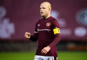 The Hearts veteran has played for big clubs like Everton.