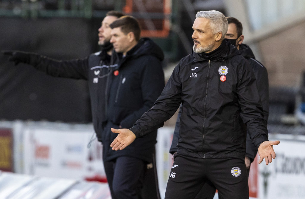'Poor' - Jim Goodwin upset with St Mirren star's Perth dismissal in recent defeat