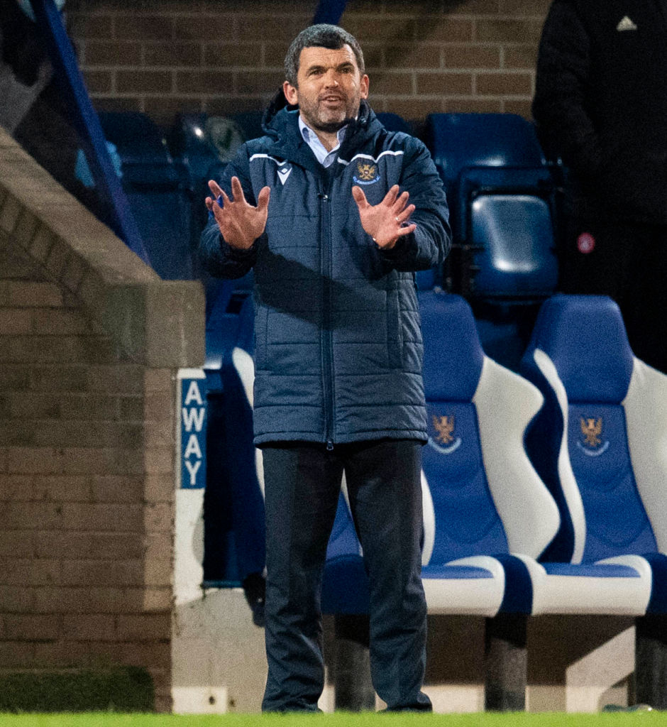 St. Johnstone v Hamilton Academical - Ladbrokes Scottish Premiership