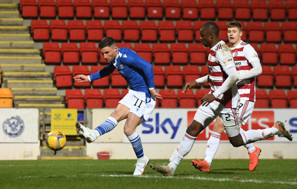 'Tried to walk it into the net' - St Johnstone boss Callum Davidson rues missed opportunities