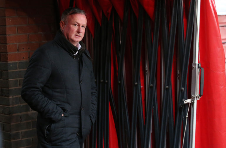 Michael O'Neill is currently managing Stoke City