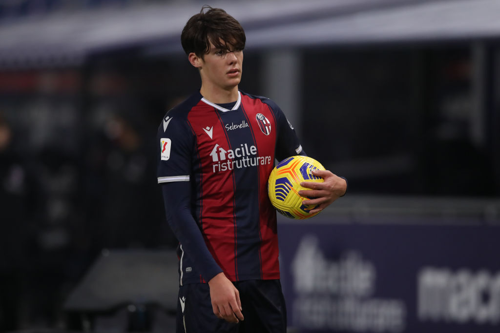 Aaron Hickey hopes to make the Scotland squad for Euro 2020