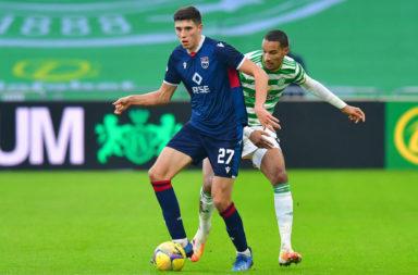 Ross Stewart in action against Celtic