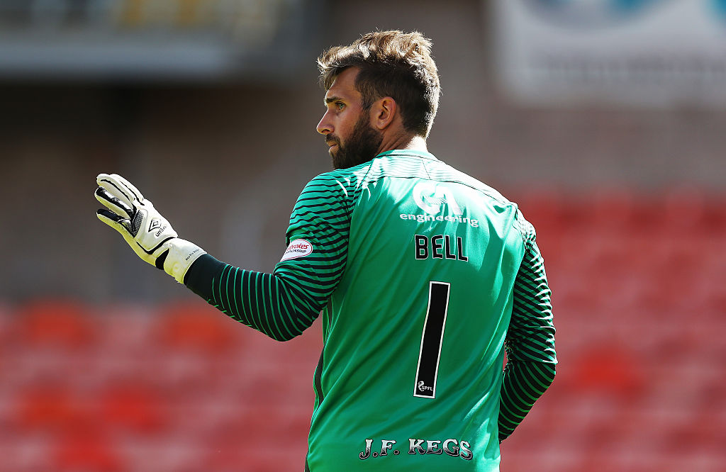 Cammy Bell during his time at Dundee United