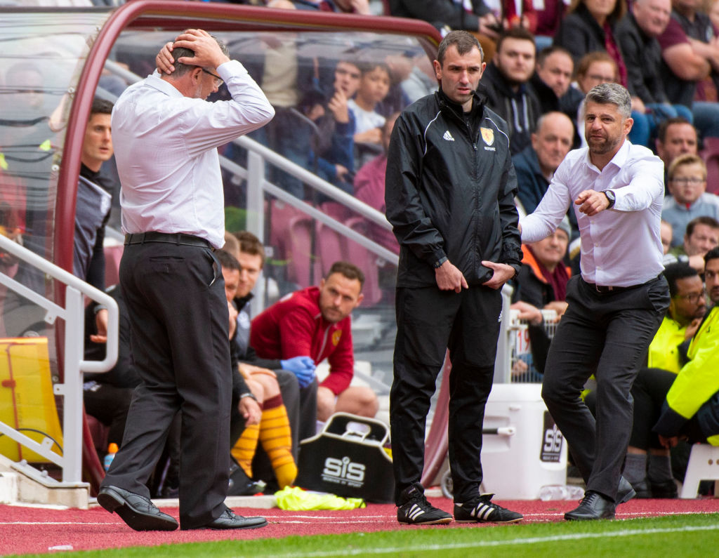 Hearts v Motherwell - Ladbrokes Scottish Premiership