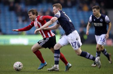 Millwall FC v Sheffield United - FA Cup Fourth Round