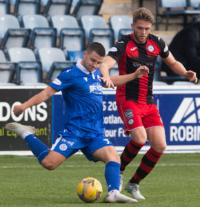 Queen of the South v St Mirren - Betfred Cup Match