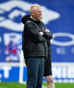 Holt's Falkirk side were beaten.