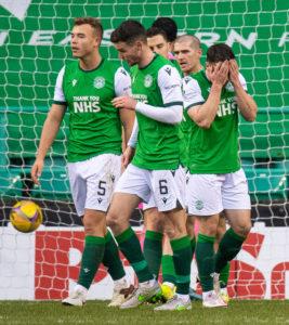 Hibs face Celtic next Monday.