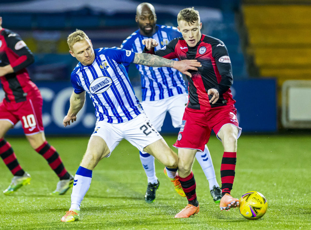 'I was humbled' - 37-year-old thrilled as former Birmingham City star extends Killie stay