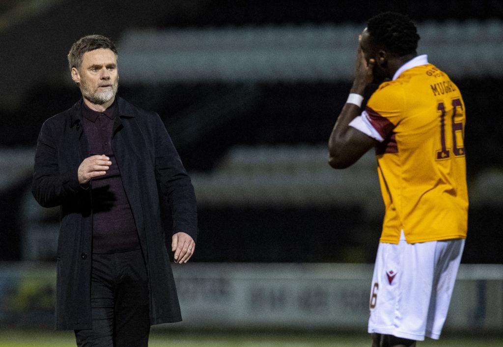 Motherwell manager Graham Alexander provides Bobby Madden assessment