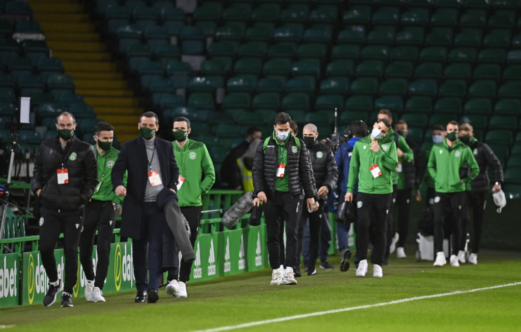 Celtic Hibs mayhem gets personal as manager makes 'families' suggestion