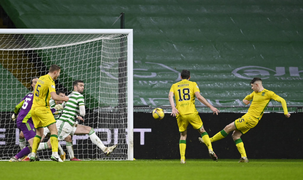 Hibernian star hopes instinctive Celtic Park finish was noticed by international boss