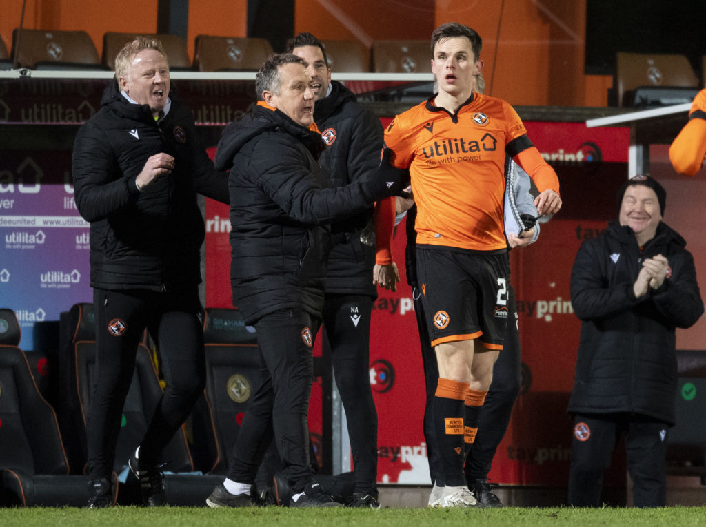 'Didn't have a chance to look' - Dundee United star's outrageous strike was all about instinct