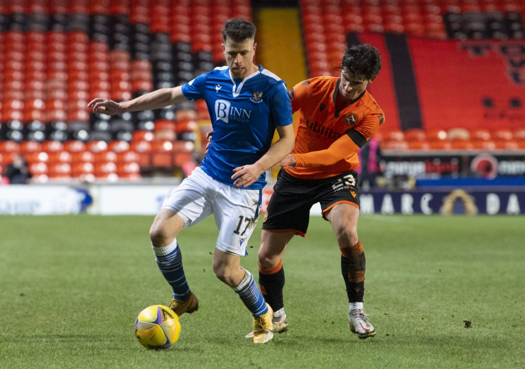 St Johnstone star didn't contemplate a January exit despite early difficulties at club