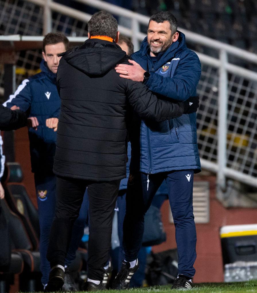 Dundee United v St. Johnstone - Ladbrokes Scottish Premiership