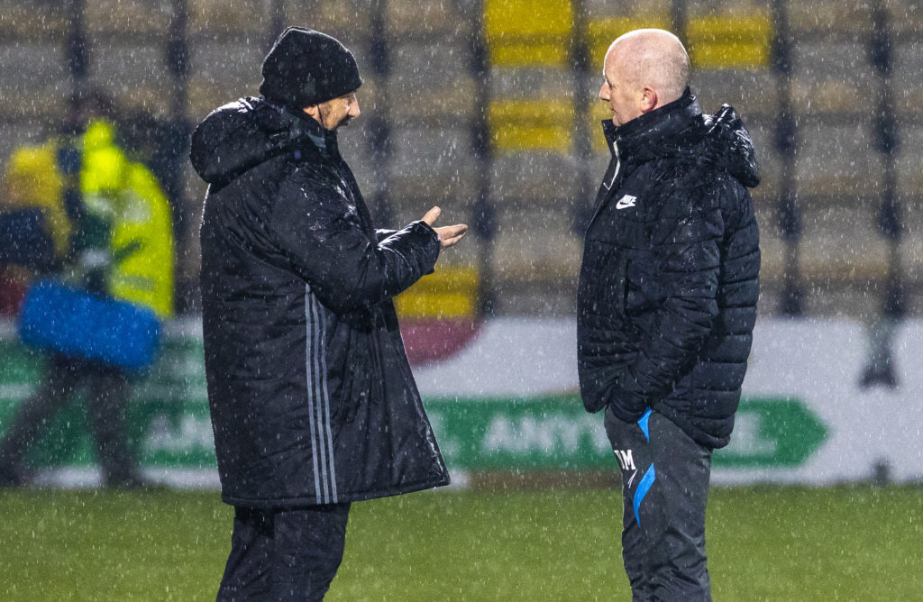 'Dangerous' pitch forced Aberdeen Livingston postponement says Derek McInnes as he hails referee