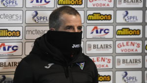 The Crystal Palace kid and Wilson are concerns for Dunfermline boss Crawford.