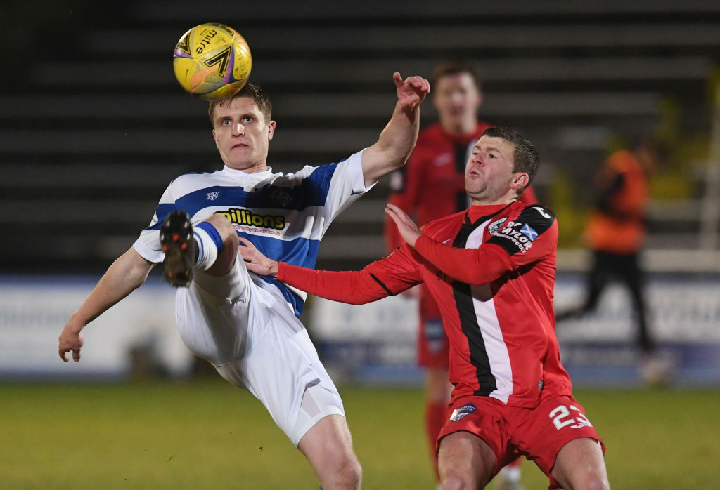 Greenock Morton v Dunfermline - Scottish Championship