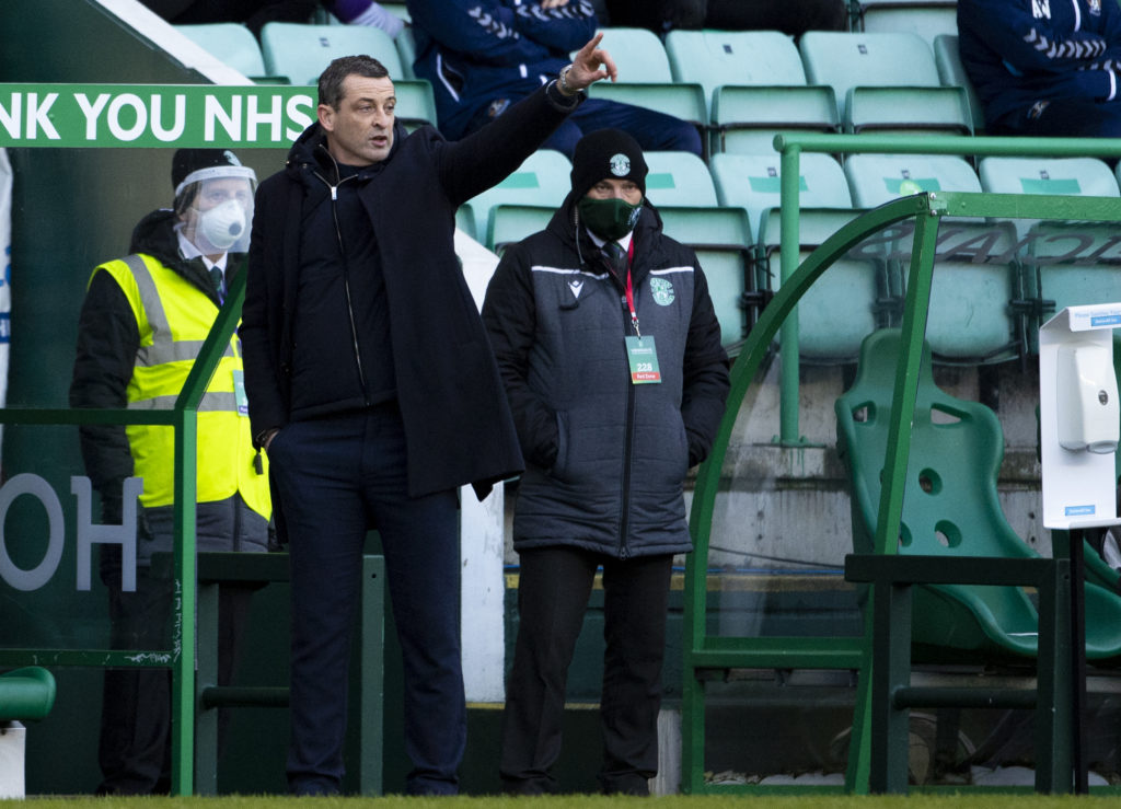 Hibs boss Jack Ross hopes that suspended tournament can be resumed this season