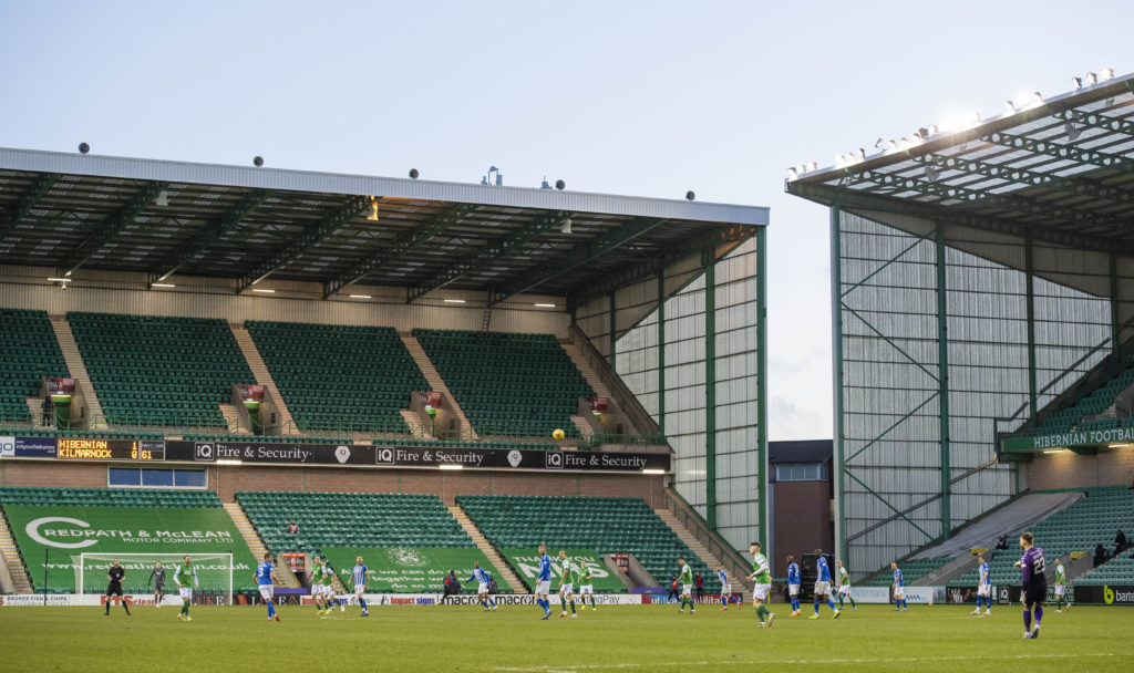 Hibernian boss has sympathy for players as he acknowledges Easter Road issue