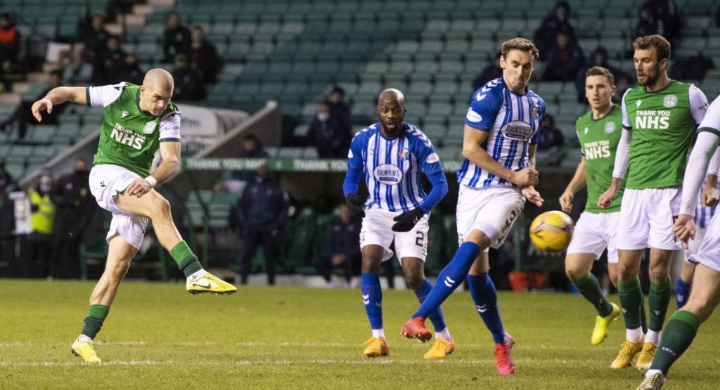 'The boys always say don't shoot' - Hibs star defied teammates with spectacular results