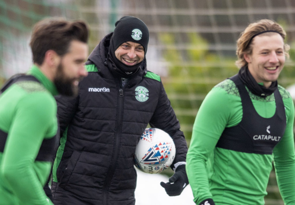 Hibs fitness update including Allan and Marciano as squad gets ready for semi-final