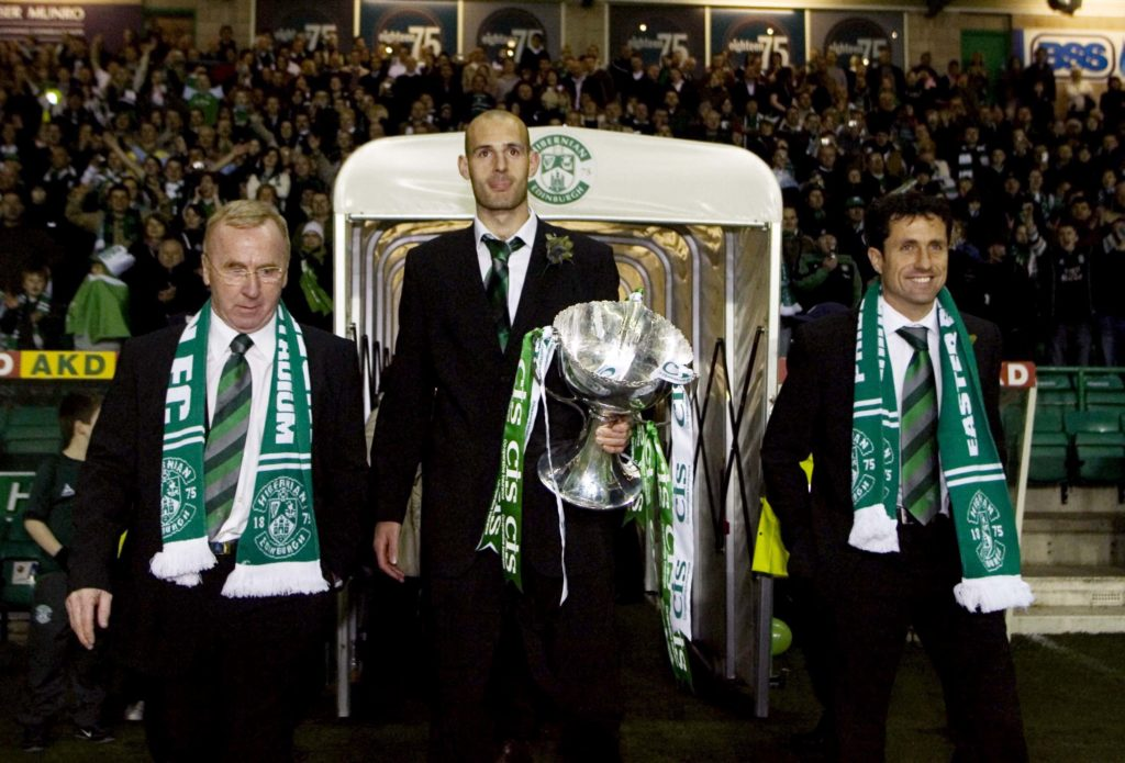 Exclusive: Former Hibs captain hails key Easter Road man as he gives Hampden prediction