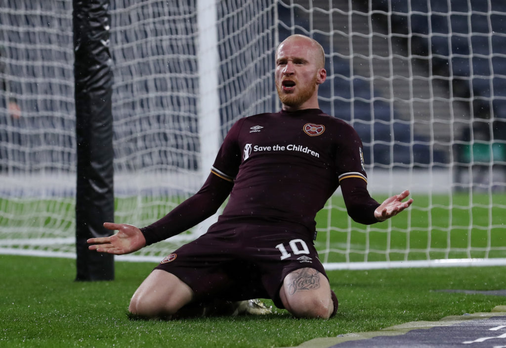 'So, so, good', 'on fire' - some Hearts fans laud 29-year-old as they gain revenge on Raith