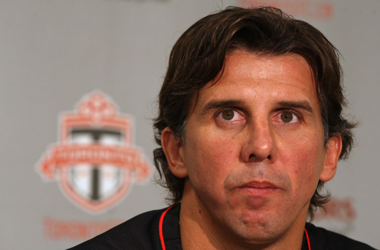 September 14, 2010 Nick Dasovic is named interim head coach. Toronto FC fires general manager Mo Joh