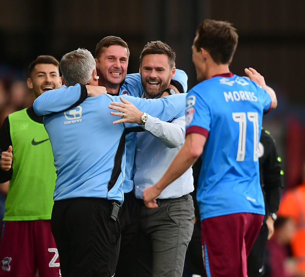 Scunthorpe United v Northampton Town - Sky Bet League One