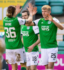 Hibs' Doig has attracted interest from the likes of Arsenal and Leeds United.