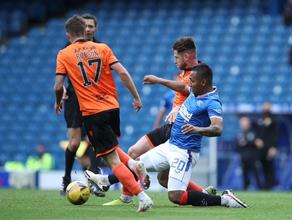 Rangers v Dundee United - Ladbrokes Scottish Premiership